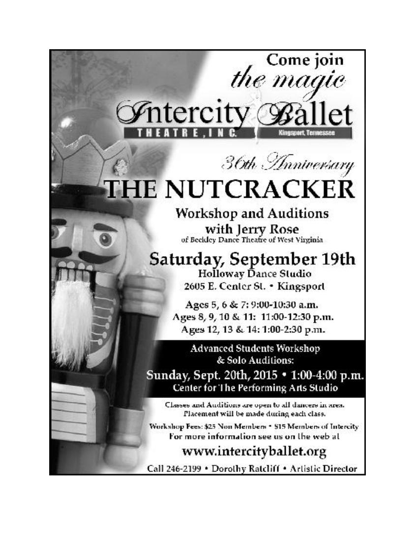 Nutcracker Poster 2015